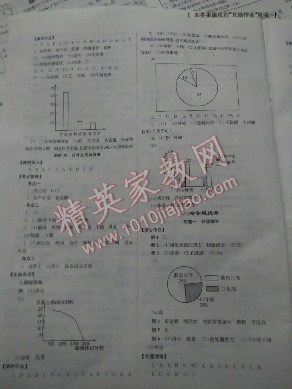 全效学习中考学练测生物第1页