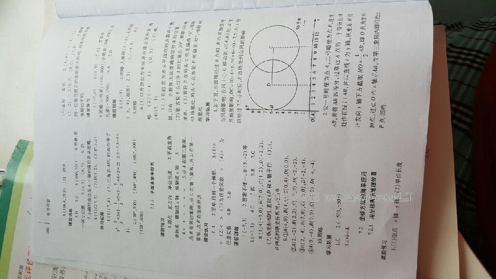 2014年基础训练七年级数学下册人教版仅限河南省内使用大象出版社第50页