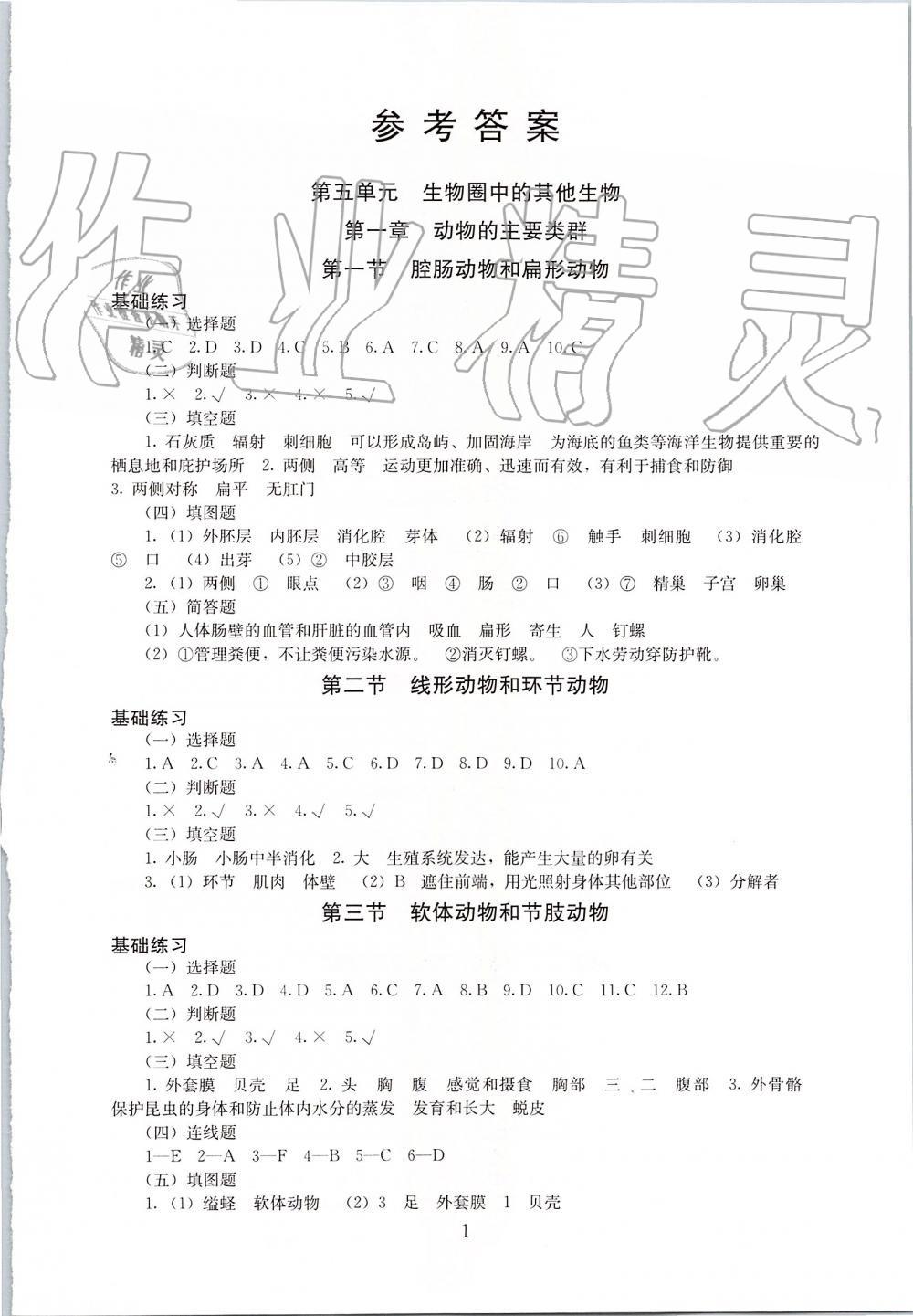 福建福利快3推荐_2019年海淀名师伴你学同步学练测八年级生物上册人教版第1页